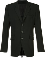 Ann Demeulemeester flap pockets blazer - men - Rayon/Cotton/Virgin Wool/Spandex/Elastane - S