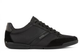 HUGO BOSS Low-profile trainers with bamboo-charcoal lining