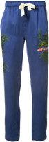 MHI Aube track pants - women - Silk - 10