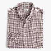 J.Crew Slim Secret Wash shirt in classic gingham