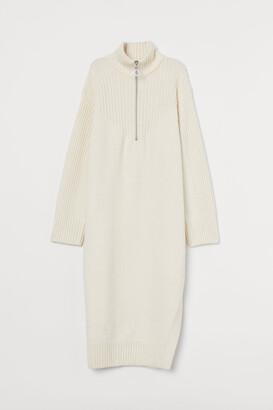 H&M Knit Dress with Slit