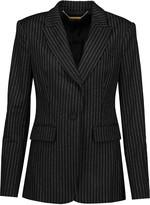 Rachel Zoe Calla pinstriped wool-blend blazer