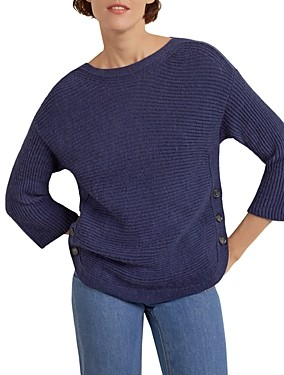 Gerard Darel Daniela Side Button Sweater