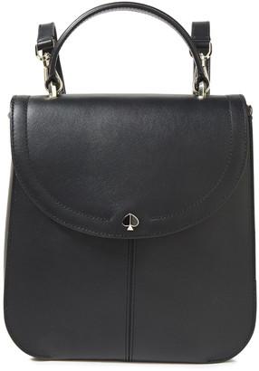 Kate Spade Logo-embellished Leather Backpack