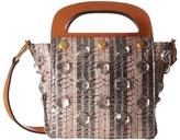 Tory Burch Jacquard Small Bermuda Bag Bags