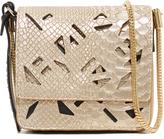 Kenzo Metallic Croc Bag
