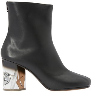 Maison Margiela Metallic heels ankle boots