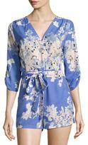 Yumi Kim Liz Floral Print Short Jumpsuit
