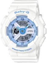 Casio Baby G Duo Beach Colour BA110BE-7A White Watch