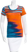 Jean Paul Gaultier Striped Short Sleeve Top
