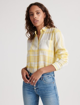 Lucky Brand Classic One Pocket Plaid Shirt