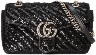 Gucci GG Marmont small sequin shoulder bag