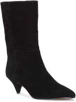 Vince Camuto Women's Casual boots BLACK - Black Rastel Suede Bootie - Women
