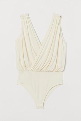 H&M Draped Bodysuit