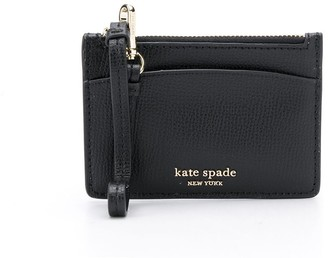 Kate Spade Sylvia grained-effect cardholder