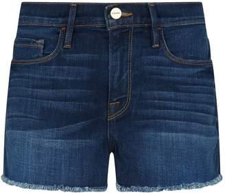 Frame Le Cut-Off Denim Shorts