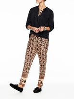Scotch & Soda Cotton Lurex Trousers