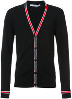 Givenchy contrast-trim cardigan - men - Wool - S