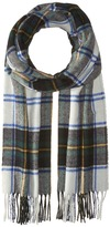 Scotch & Soda Classic Scarf in Brushed Quality with Check Pattern