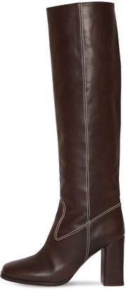 Maryam Nassir Zadeh 85mm Roma Tall Leather Boots