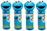 Little Kids Sesame Street 4-pk. Cookie Monster Bubble Heads Bubble Pack by