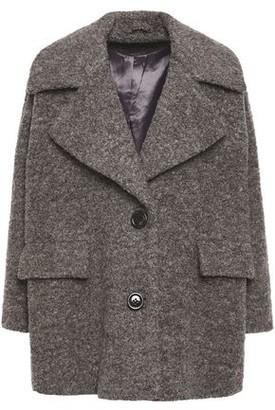Ganni Fenn Wool-blend Boucle Coat