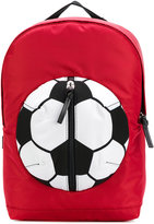 Dolce & Gabbana soccer ball backpack - kids - Leather/Polyester - One Size
