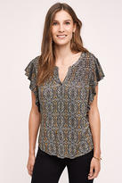 Meadow Rue Marion Pleated Top