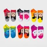 Disney Women's No-Show 6pk Low-Cut Socks Tsum Tsum - Multicolor 9-11