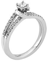 Brilliance+ Pure Brilliance by A. Jaffe 1/2 CT. T.W. Princess Engagement Ring
