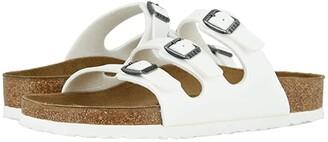 Birkenstock Florida Birko-Flortm (White Birko-Flortm) Women's Sandals