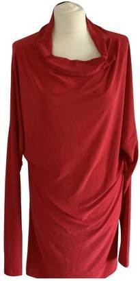 Norma Kamali Red Dress for Women