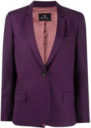 Paul Smith Tailored Single-Buttoned Blazer