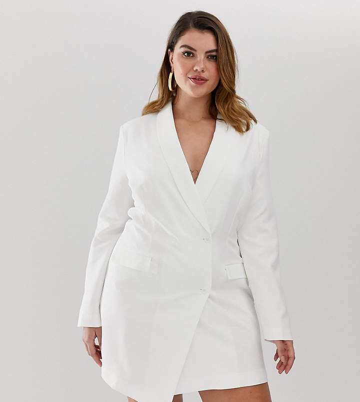 c4c113eeb3e White Blazer Dress - ShopStyle