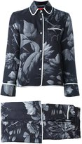 For Restless Sleepers floral print evening suit