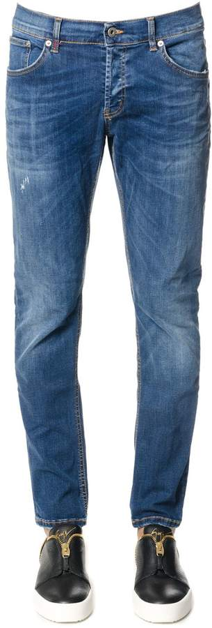 Dondup Mius Blu Cotton Denim Jeans