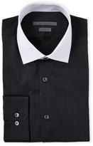 John Varvatos Classic Fit Contrast Collar Dress Shirt