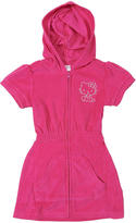 Hello Kitty AGE Group Terry Hoodie Zipper Dress - 4T