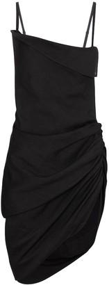 Jacquemus La Robe Saudade hemp-blend minidress
