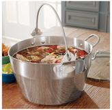 Chefs 10-qt. Stainless Steel Maslin Pan with Lid