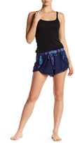 Steve Madden Jersey Knit Shorts with Overlapping Front