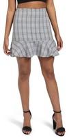 Missguided Women's Frilled Hem Miniskirt