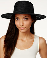 Nine West Sheer Open Floppy Hat