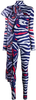Atu Body Couture Animal Print Bodysuit