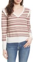Joie Women's Cais D Stripe Wool Blend Sweater