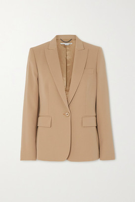 Stella McCartney Wool-blend Twill Blazer - Beige