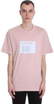 Bruno Bordese T-shirt In Rose-pink Cotton