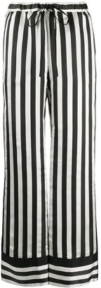 Ports 1961 Striped Wide-Leg Trousers
