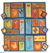 Placemats and coasters (Set for 6), 'Summer Fun'