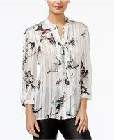 GUESS Felicity Satin Printed Shirt